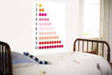 Warm Counting Apples Wall Mural by Avalisa