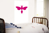 Pink Firefly Wall Mural by Avalisa