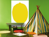 Lemon Wall Mural by Avalisa