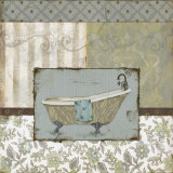 Country Style Bath II Print by Carol Robinson