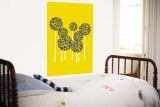 Yellow Allium Wall Mural by  Avalisa