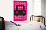 Pink Auto Wall Mural by  Avalisa