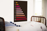 Brown Counting Apples Wall Mural by Avalisa 