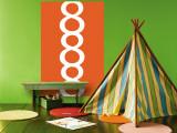 Orange 8 reproduction murale géante par  Avalisa