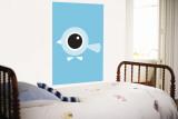 Blue Birds Eye Fototapete von  Avalisa