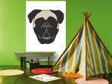 Mastiff Wall Mural by  Avalisa