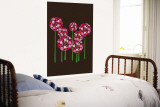 Brown Allium Wall Mural by  Avalisa