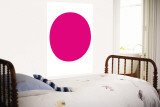 Pink Circle Wall Mural by Avalisa 