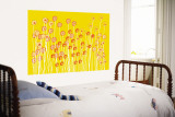 Yellow Wild Flowers Reproduction murale géante par Avalisa
