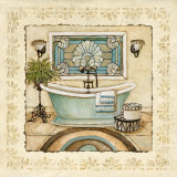 Spa Vacation I Prints by Charlene Winter Olson