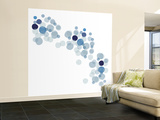 Blue Float Wall Mural – Large by Avalisa