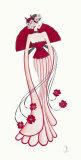 Geisha I Prints by Yvette Jordan
