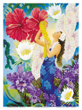 A Lei Of Aloha Prints by Warren Rapozo