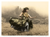 Swaying Skirt, Hawaiian Hula Dancer Prints by Alan Houghton