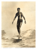Hawaiian Surfer Duke Kahanamoku Prints