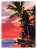 Isle o' Dreams, Hawaii, c.1930s Art