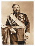 The Merrie Monarch, Hawaiian King David Kalkaua (1836-1891) Posters