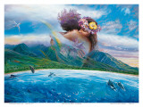 Held in the Arms of Heaven, Hawaii Prints by Steve Sundram