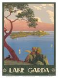 Lake Garda, Italy, c.1930 Prints by Severino Tremator