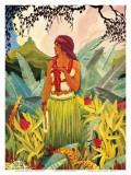 Hawaii Nei Affiches par Don Blanding