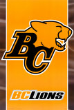 CFL - BC Lions Plakater