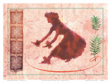 From the Ocean Comes My Song, Hawaiian Hula Dancer Plakater af Joanne Bolton