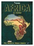 Pan American Airways Africa, c.1949 Poster
