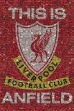Liverpool - Esto es Anfield, en inglés Pósters