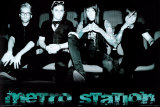 Metro Station Poster