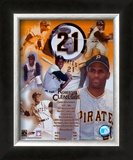 Roberto Clemente - Legends of the Game Composite Art