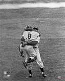 Don Larsen & Yogi Berra Game 5 of the 1956 World Series Fotografía