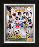 Steelers Super Bowl Composite Posters