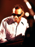 Ray Charles Playing Piano Photographie