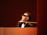 Ray Charles in Tuxedo Performing Photo