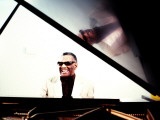 Ray Charles in the Studio at RPM International, Los Angeles Posters