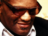 Ray Charles Pensive Portrait Photo