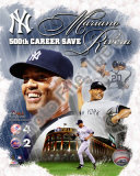 Mariano Rivera 500th Save Photo