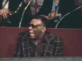 Ray Charles Laughing Photo