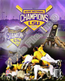 Louisiana State University Tigers 2009 NCAA Baseball Champions Photo