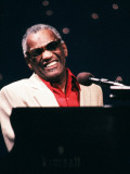 Ray Charles Performing Photo