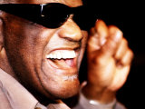 Ray Charles in Rehearsal, 1998 Photo