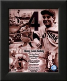 Lou Gehrig - Legends of the Game Composite Prints