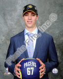Tyler Hansbrough 2009 NBA Draft 13 Pick Photographie