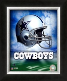 Dallas Cowboys Helmet Logo Prints