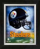 Pittsburgh Steelers Helmet Logo Posters