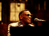 Ray Charles Performing on Saturday Night Live, 1977 Photo