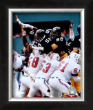 Steel Curtain - Holmes, Lambert, Greenwood - blocking field goal Posters