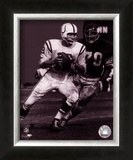 Johnny Unitas - Passing Action (B&W) Prints