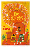 Fly TWA Los Angeles c.1959 Posters by David Klein