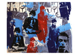 Collage II Poster av Bobby Hill